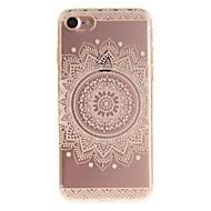 のために iPhone 7ケース iPhone 6ケース IMD ケース バックカバー ケース 曼荼羅 ソフト TPU のために AppleiPhone 7プラス iPhone 7 iPhone 6s Plus/6 Plus iPhone 6s/6 iPhone