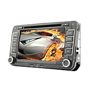 "7 ""2 DIN touch screen lcd bil dvd-afspiller til Volkswagen med can-bus, bluetooth, gps, ipod-input, rds, radio, ATV"