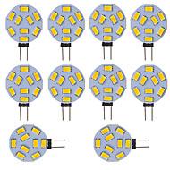 3W G4 Żarówki LED bi-pin Rurka 9 SMD 5730 210 lm Zimna biel V 10 sztuk