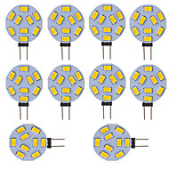 3W G4 LED Bi-Pin lamput Tuubi 9 SMD 5730 210 lm Kylmä valkoinen V 10 kpl