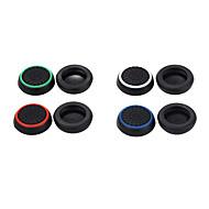 8ks / lot silikonový klobouček joystick grip pro PS4 PS3 Xbox 360 Xbox jeden řadič (celkem 4 barev, každá barva 2 ks)