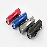 תאורה פנס LED / פנסי יד LED 120 Lumens 1 מצב XP-G2 AAA עמיד למים / ניתן לטעינה מחדש / קל במיוחד / גודל קומפקטי / גודל קטן רב שימושיסגסוגת