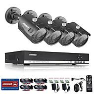 annke 4kanálového hdmi dvr 1080n HD video 1.0mp systémem nočního vidění ir bezpečnostní kamery