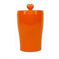 Katze Hund Schalen & Wasser Flaschen Futter-Vorrichtungen Haustiere Schüsseln & Füttern Wasserdicht Lässig/Alltäglich Orange