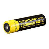 nitecore nl183 2300mAh 3.7v 8.5wh bateria recarregável 18650 li-ion