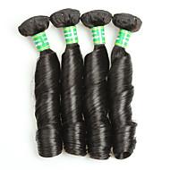 Brazilian Remy Hair Remy fletninger af menneskehår Krøllet Remy Human Hair vævninger