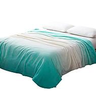 Felpudo Verde,Estampado Curva 100% Poliéster cobertores
