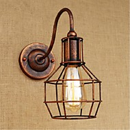 AC 110-130 AC 220-240 40 E27 Rustic/Lodge Antique Brass Feature for Bulb Included,Downlight Wall Sconces Wall Light