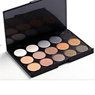 15 Paleta očních stínů Suché Oční stíny paleta Stlačený prášek Günlük Makyaj