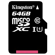 Kingston 65GB 마이크로 SD 카드 TF 카드 메모리 카드 UHS-1 CLASS10