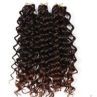 3 Pieces/lot 300G deep wave Human Hair Weaves Brazilian Texture 10inch deep curly Human Hair Extensions human hair blundles