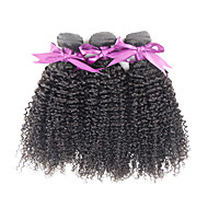 7A Unprocessed Natural Peruvian Kinky Curly Virgin Hair Products 3 Pcs Afro Kinky Human Hair Extension Weave Bundles