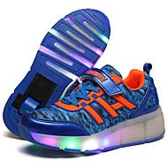Atletické boty-Tyl-Pohodlné-Dívčí-Černá Modrá Fialová-Outdoor Běžné Atletika-Klín