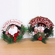 20 cm Santa Claus sněhulák ozdobné věnce