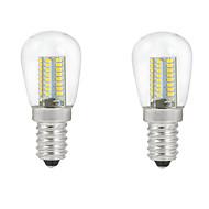 5W E14 LED kulaté žárovky C35 104PCS SMD 3014 500 lm Teplá bílá / Chladná bílá Ozdobné AC 220-240 V 2 ks