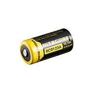 nitecore nl166 650mAh 3.7V 2.4wh bateria recarregável 18650 li-ion