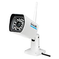 homedia® udendørs fuld hd vandtæt 720p 6mm 1 / 2,7 '' CMOS ip kamera p2p 24leds ir nattesyn mobil visning