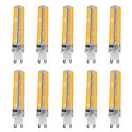 15W G9 Bombillas LED de Mazorca T 136 SMD 5730 1200-1400 lm Blanco Cálido / Blanco Fresco Regulable / Decorativa V 10 piezas