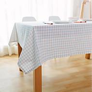 Carré Vichy Nappes de table , Lin Matériel Hôtel Dining Table / Tableau Dceoration