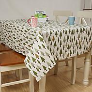 ריבוע מעוטר / פרחוני כיסויי שולחן , פשתן חוֹמֶר שולחן אוכל במלון / שולחן Dceoration / עיצוב הבית