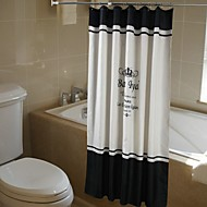 Modern Polyester 180*200cm with High Quality Shower Curtains