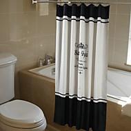 モダン ポリエステル 180*200cm  -  高品質 シャワー用カーテン