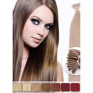 neitsi 20 '' 50g ragasztó i TP pre kötött fúziós emberi haj kiterjesztések 1g / s szín választhat
