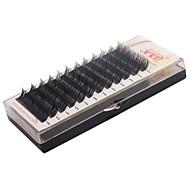 4 Trays/Lot řasy Řasy Jednotlivé řasy Eyes Ručně vyrobeno Vlákno Others 0.07mm 10mm