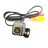 System wspomagania parkowania samochodu Tylna kamera CCD auto 12 led hd lusterko odwrócić uniwersalne backup kamery wodoodporny noktowizor