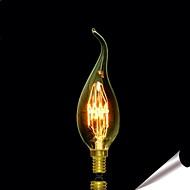 Bofa c35 l 25waty Edison art deco wolfram světelný zdroj (85v-265V)