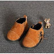 Boty-Kůže-Pohodlné-Dívčí Děti-Černá Žlutá Zelená-Běžné