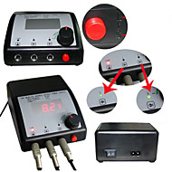 LCD 0.39 power plug professional power Foot Switch  Digital Tattoo