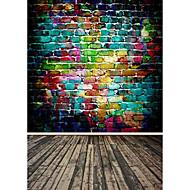 duhové barvy pozadí fotografie studio fotografování kulis 5x7ft