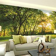 Art Deco / 3D Wallpaper voor Home Modern Behangen , Canvas Materiaal lijm nodig Muurschildering , kamer Wallcovering