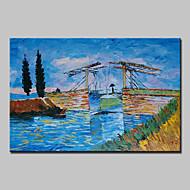 Håndmalte Kjent Landskap olje malerier,Tradisjonell Klassisk Et Panel Lerret Hang malte oljemaleri For Hjem Dekor