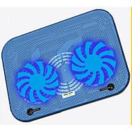 ultradunne dubbele fan cooling pad een laag geluidsniveau voor laptop