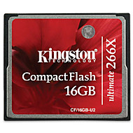 Kingston CF Cards Original Real Capacity 16GB Compact Flash Card 266X High Speed Camera Memory Cards