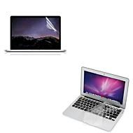 """ultratunna tpu tangentbordet beskyddare omslag + skyddande genomskinligt skärmskydd för 13,3 """"/15.4"""" MacBook Pro näthinnan"""
