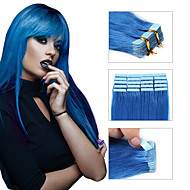 tanie taśmy Przedłużanie włosów 20szt / paczka pu wątek skóry taśmy w ludzkich włosów rozszerzeniach darmo żeglugi