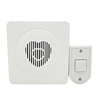 Plastic Non-visual doorbell Wired Doorbell Systems