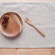 Rectângular Estampa Marcadores de Lugar , Mistura de Algodão Material Tabela Dceoration / Hotel Mesa de Jantar