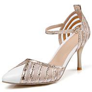 Homme-Mariage Habillé Soirée & Evénement-Noir Rouge Blanc-Talon Aiguille-Nouveauté A Bride Arrière D'Orsay & Deux Pièces-Chaussures à