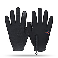 Gloves Sports Gloves Unisex Cycling Gloves Winter Bike GlovesKeep Warm / Anti-skidding / Windproof / Snowproof / Wearable / Fleece Lining