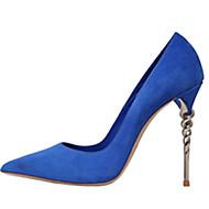 Homme-Bureau & Travail Habillé Décontracté Soirée & Evénement-Noir Bleu Violet Rouge Gris Bordeaux-Talon Aiguille-Autre-Chaussures à