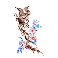 5 Stück phoenix wasserdicht temporäres Tattoo (17,5 cm * 10cm)