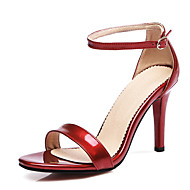 Women's Sandals Spring Summer Fall PU Casual Party & Evening Stiletto Heel Others Black Pink Red