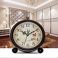 Ευρωπαϊκό στυλ ρετρό μεταλλικό μεταλλικό κουδούνι ξυπνητήρι δημιουργική σιωπηλό ξυπνητήρι
