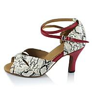 Sapatos de Dança(Branco) -Feminino-Personalizável-Latina