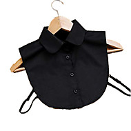 Fashion Women`s Solid Fabric Cotton Collar Necklaces Joker Daily/Casual