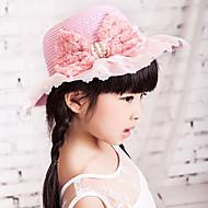 Tyttöjen Hatut ja lippikset,Kesä Puuvilla-Sininen Pinkki Valkoinen